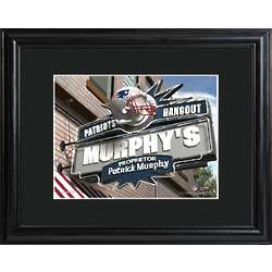 New England Patriots Personalized NFL Pub Sign