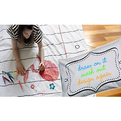 Doodle Washable Duvet and Pillow Case