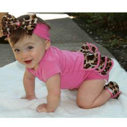 Lollipop Leopard Baby Set