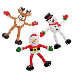 Holiday Character Bendables Toys