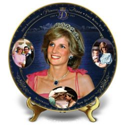 Princess Diana First Royal Tour Collector's Plate