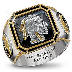 The Spirit of America Men's Ring