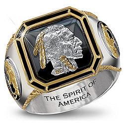 The Spirit of America Men's Ring