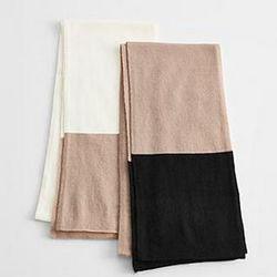 Cashmere Color Block Scarf