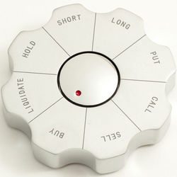 Stock Market Spinner Decision Maker Paperweight