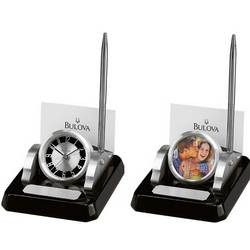 Consul Desk Set Clock