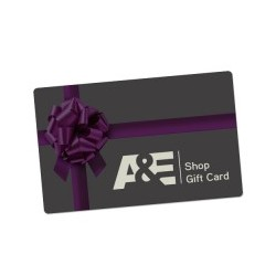 $50 A&E Shop E-Gift Card