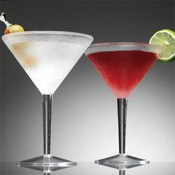 Iced Martini Glasses