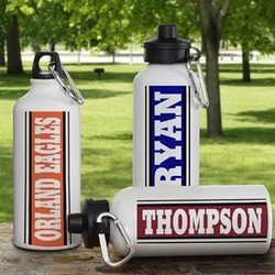 Aluminum Personalized Sports Water Bottle
