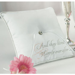 Fairy Tale Dreams Ring Bearer Pillow