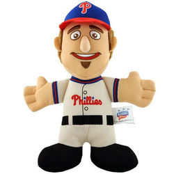 "Phillies Chase Utley 7"" Plush Doll"