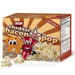 Cheddar Bacon Popcorn