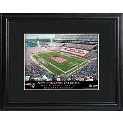 New England Patriots Personalized NFL Stadium Art Print