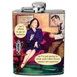 Penny Pincher Hip Flask