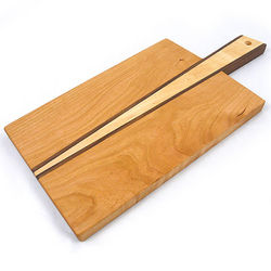 Contemporary Wedge Serving Board