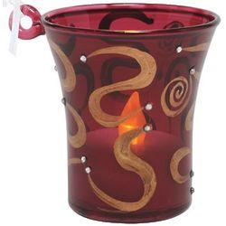 Bejeweled Mini Candle Ornament