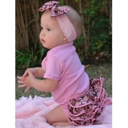 Pink Champagne Baby Set