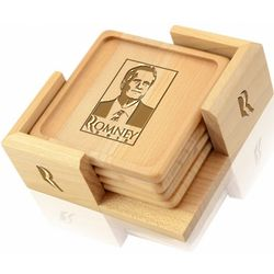 Romney 2012 Drink Coasters Set