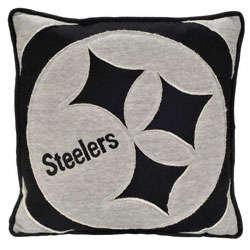 Pittsburgh Steelers Big Logo Sweatshirt Pillow