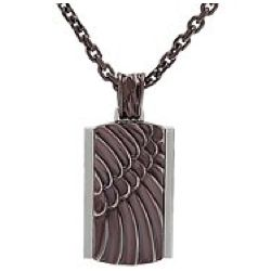 Atreyu Black Stainless Steel Necklace