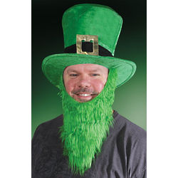 Lucky Leprechaun Hat and Beard