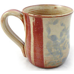 Old Glory Stoneware Mug