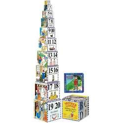 Mother Goose Building Blocks & Board Book Set
