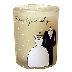 Forever Begins Today Candle