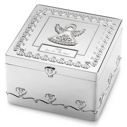 Regal Angel Jewelry Box