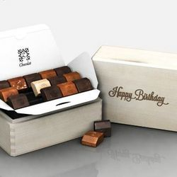 Birthday Sunshine French Chocolates Gift Box