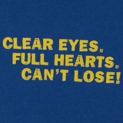 Friday Night Lights Panthers Clear Eyes Full Hearts T-Shirt