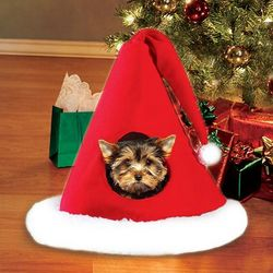 Santa Hat Pet Bed