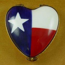 Texas Flag Limoges Box