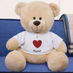 Personalized I Heart You Teddy Bear