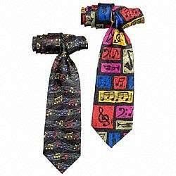 Music Notes or Music Symbols Necktie