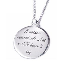 A Mother Understands Necklace