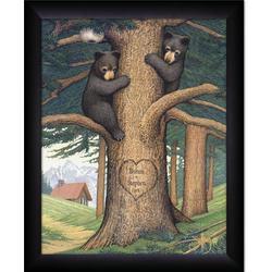 Honey Bears Personalized Framed Print