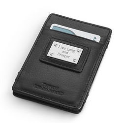 Personalized Black Magic Wallet