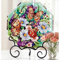 Butterfly Garden Suncatcher Easel