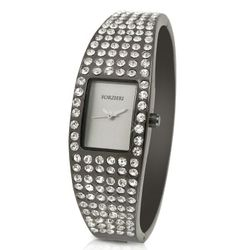 Women's Swarovski Crystal Cuff Dress Watch
