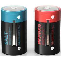 Salt and Pepper Power Battery Shaker Set