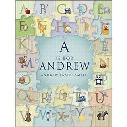 Personalized Alphabet Puzzle Print