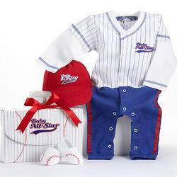 Big Dreamzzz Baby Baseball Layette Set