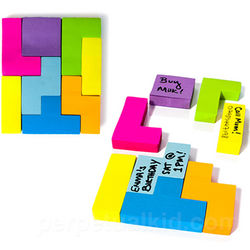 Game Blocks Sticky Notes
