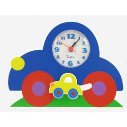 Kid's Colorful Pendulum Car Clock