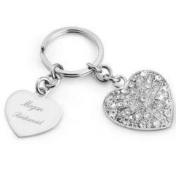 Park Avenue Heart Key Chain