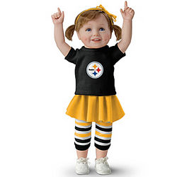 Steeler Girls Have More Fun Doll