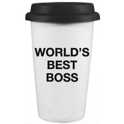 The Office World's Best Boss Travel Mug