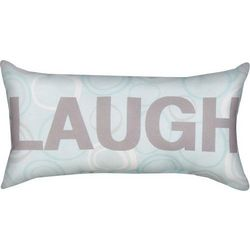 Words to Hold on to Laugh Pillow