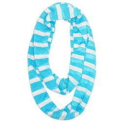 Striped Lightweight Infinity Scarf